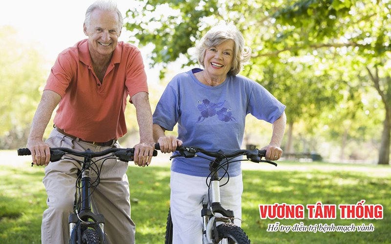 Người bệnh mạch vành nên thường xuyên luyện tập thể dục thể thao